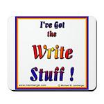 Write Stuff Mousepad