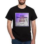 Single Romance Novelist Black T-Shirt