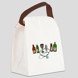 AlternativeMedicine090409 Canvas Lunch Bag