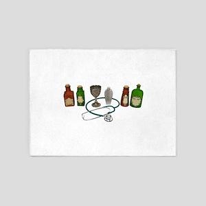 AlternativeMedicine090409 5'x7'Area Rug