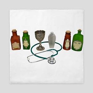 AlternativeMedicine090409 Queen Duvet