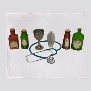 AlternativeMedicine090409 Throw Blanket