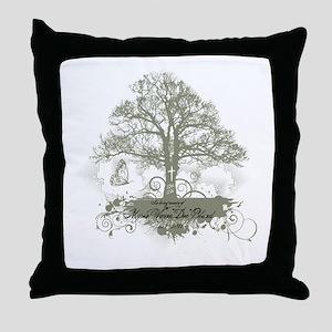 Myron Bland Tree of Life Throw Pillow