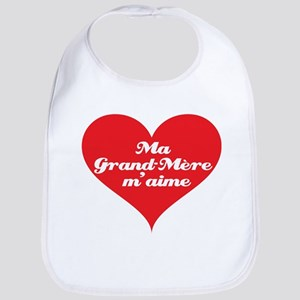 Grandma Loves Me (French) Bib