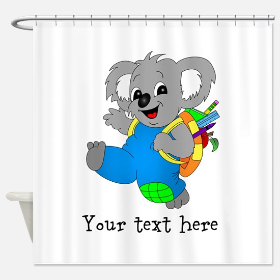 Personalize it - Koala Bear with backpack Shower C