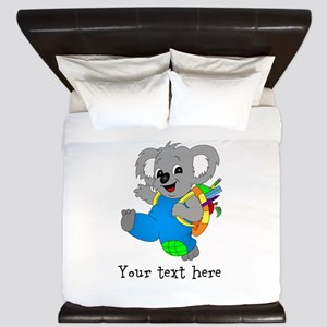Personalize it - Koala Bear with backpack King Duv