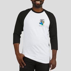 Personalize it - Koala Bear with backpack Baseball