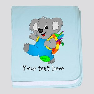 Personalize it - Koala Bear with backpack baby bla