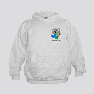 Personalize it - Koala Bear with backpack Kids Hoo