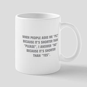 Plz Mug