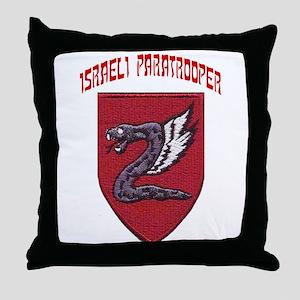 Israeli Paratrooper Throw Pillow