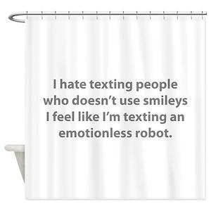 I Robot Shower Curtains