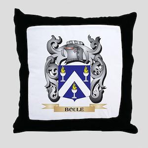 Boule Family Crest - Boule Coat of Ar Throw Pillow