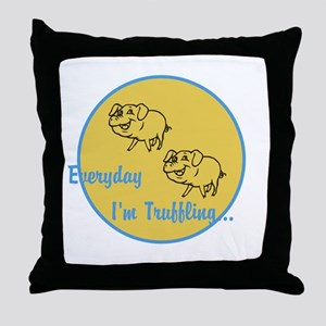 Truffling Throw Pillow