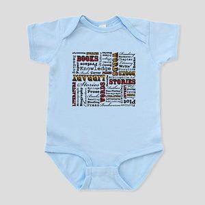 Books Books Books Infant Bodysuit