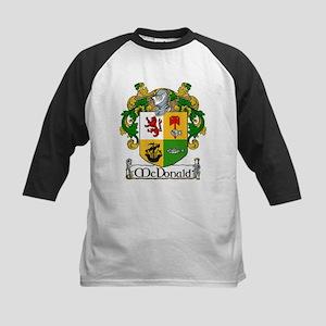 McDonald Coat of Arms Kids Baseball Jersey