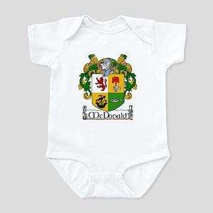 McDonald Coat of Arms Infant Creeper