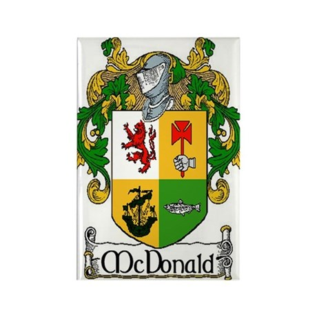 McDonald Coat of Arms Magnets (10 pack)