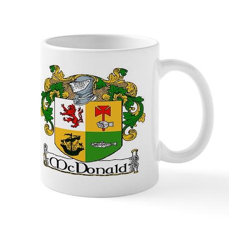 McDonald Coat of Arms Mug