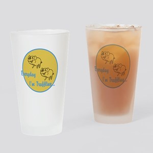 Truffling Drinking Glass