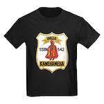 USS KAMEHAMEHA Kids Dark T-Shirt