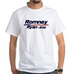 Romney Ryan 12 White T-Shirt