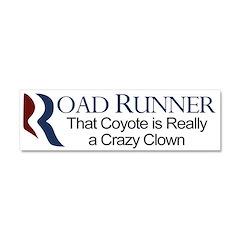 Road Runner Romney-Ryan Car Magnet 10 x 3