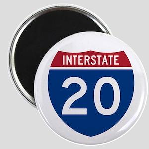 I-20 Highway Magnet