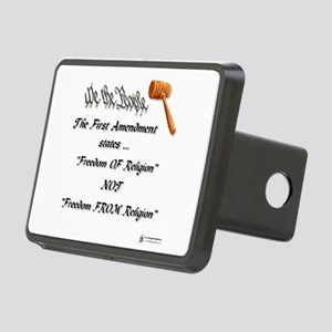 freedom of religion Rectangular Hitch Cover