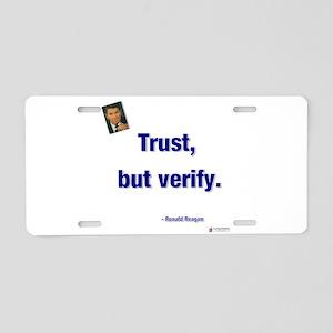 Reagan trust Aluminum License Plate