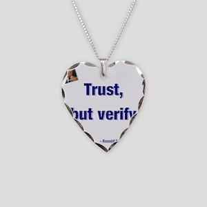 Reagan trust Necklace Heart Charm