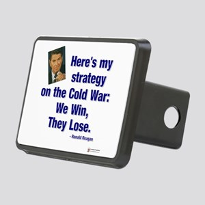 Reagan cold war Rectangular Hitch Cover
