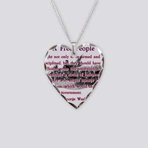 a free people Necklace Heart Charm