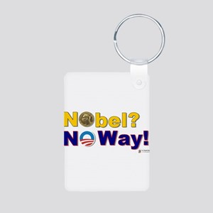 nobel Aluminum Photo Keychain