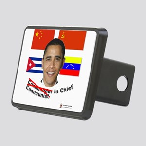 communist in chief Rectangular Hitch Cover