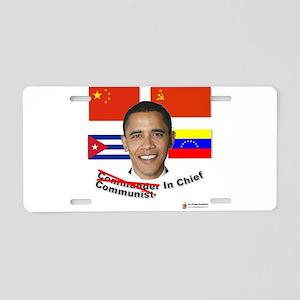 communist in chief Aluminum License Plate
