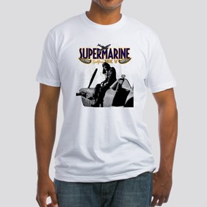 Spitfire Graphic on Fitted T-Shirt