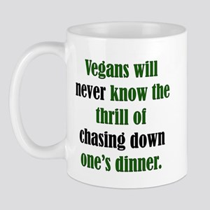 Vegans Never Know Mug