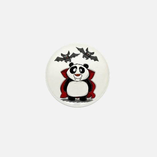 Vampire Panda Mini Button