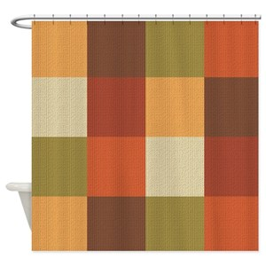 Rust Shower Curtains