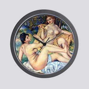 Renoir The Large Bathers Wall Clock