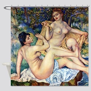Renoir The Large Bathers Shower Curtain