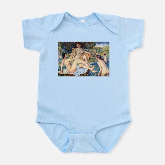 Renoir The Large Bathers Infant Bodysuit