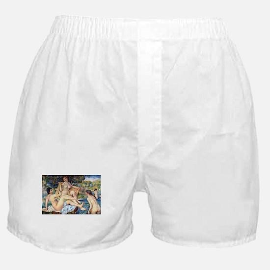 Renoir The Large Bathers Boxer Shorts