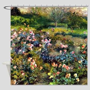 Renoir Rose Grove Shower Curtain