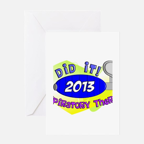 RT I did it 2013.PNG Greeting Card
