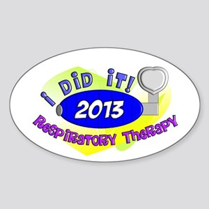 RT I did it 2013 Sticker (Oval)