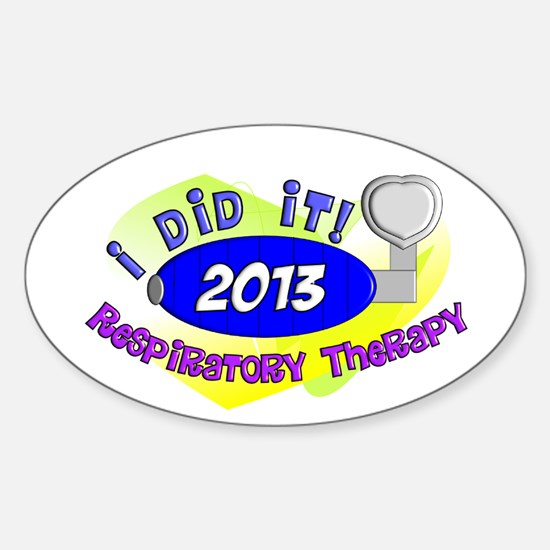 RT I did it 2013.PNG Sticker (Oval)