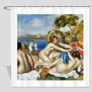 Renoir Three Bathers Shower Curtain