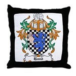 Hand Coat of Arms Throw Pillow